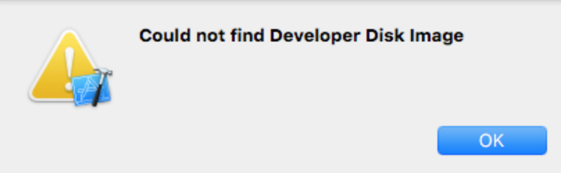 Issues related to debugging apps different IOS versions using XCODE